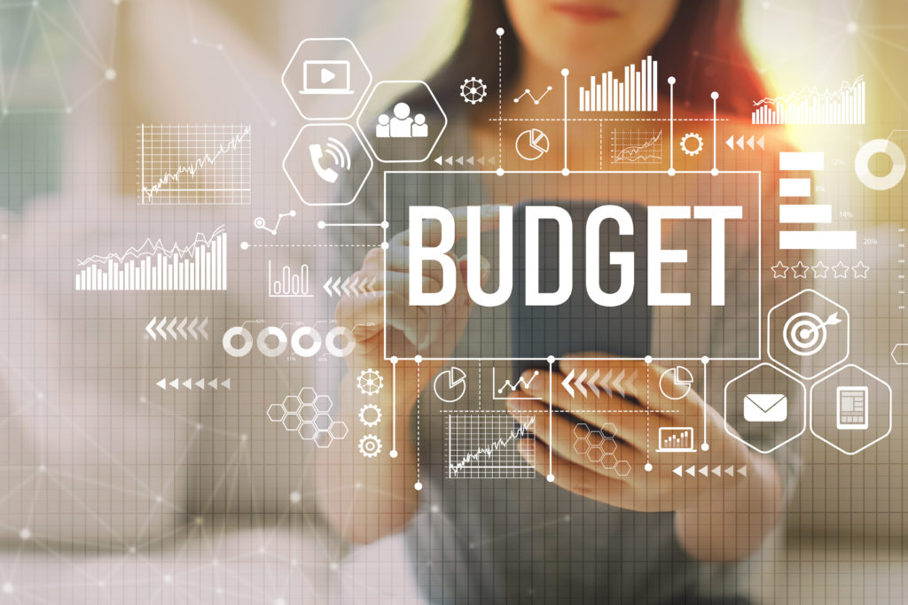 Don't forget the importance of budgeting!